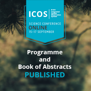 ICOS science conference programme and book of abstracts has been published
