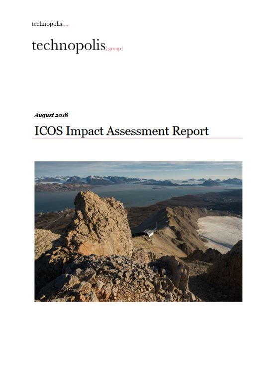 ICOS Impact Assessment cover