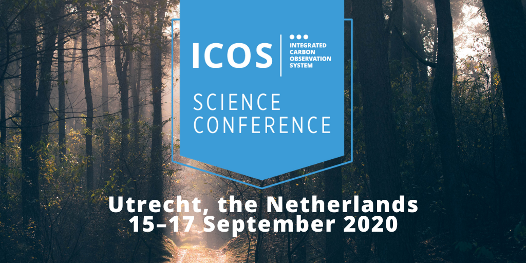 ICOS Science Conference 2020 banner