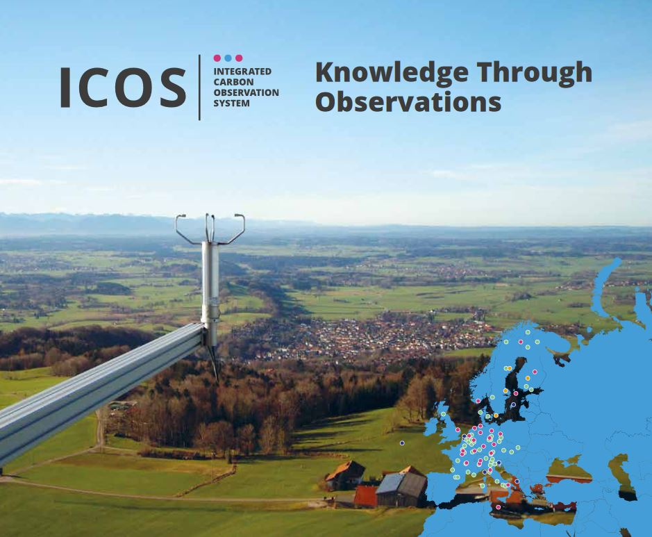 ICOS Science brochure cover