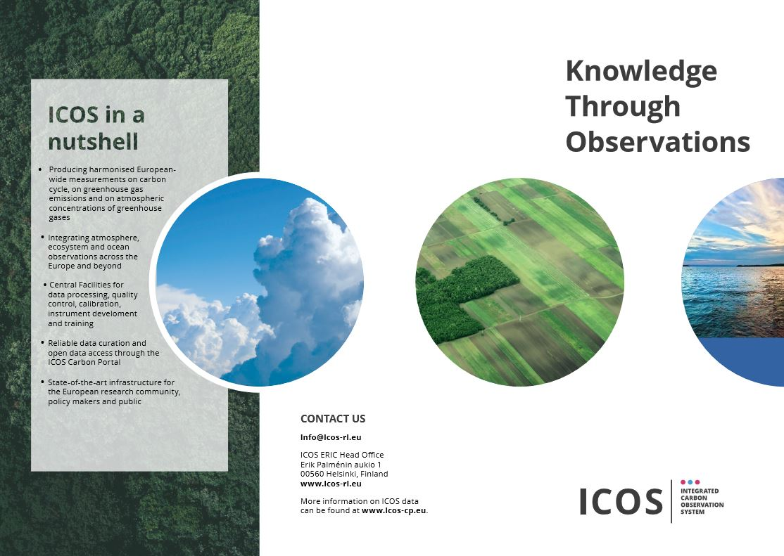 ICOS Brochure cover