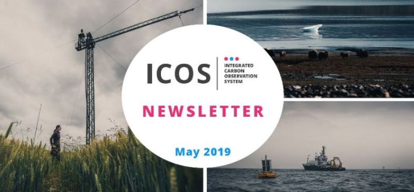 ICOS Newsletter cover