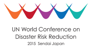 UN conference on disaster reduction logo
